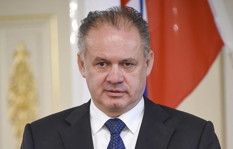 Slovak President Andrej Kiska