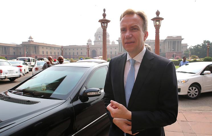 Norwegian Foreign Minister Borge Brende