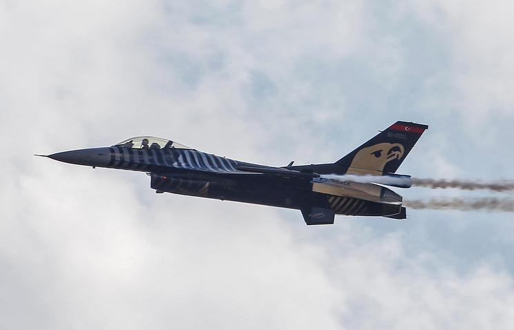 Turkey's F-16 fighter