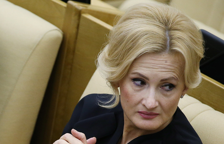 Head of the State Duma lower house Security and Anti-Corruption Committee Irina Yarovaya