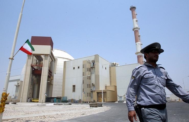 Iranian nuclear plant in Bushehr
