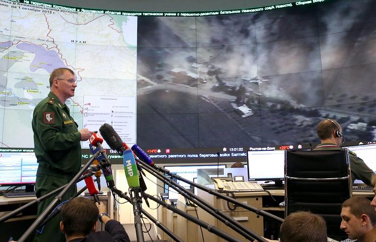 Russian Defense Ministry Spokesperson Major General Igor Konashenkov