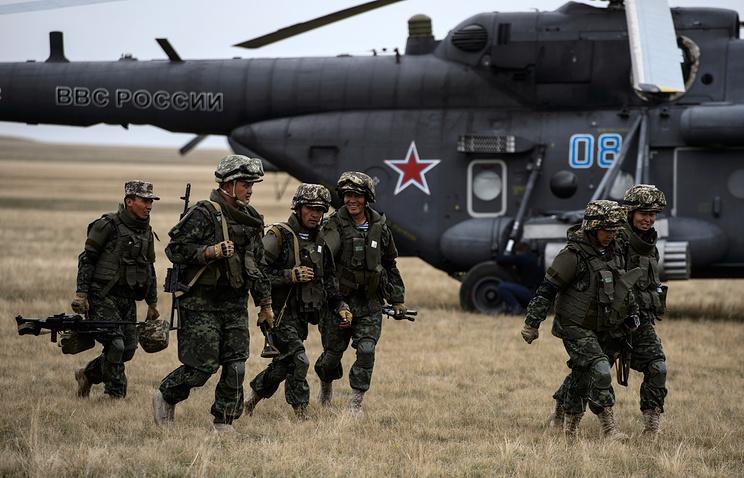 Russian strategic military drill