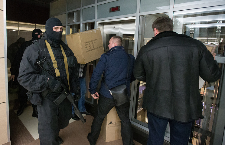 A search conducted by the Russian Investigative Commitee (archive)