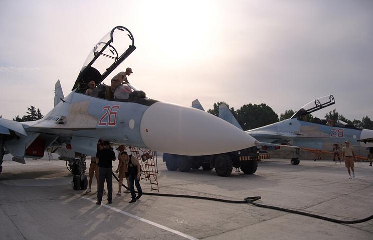 Hemeimeem airbase in Syria