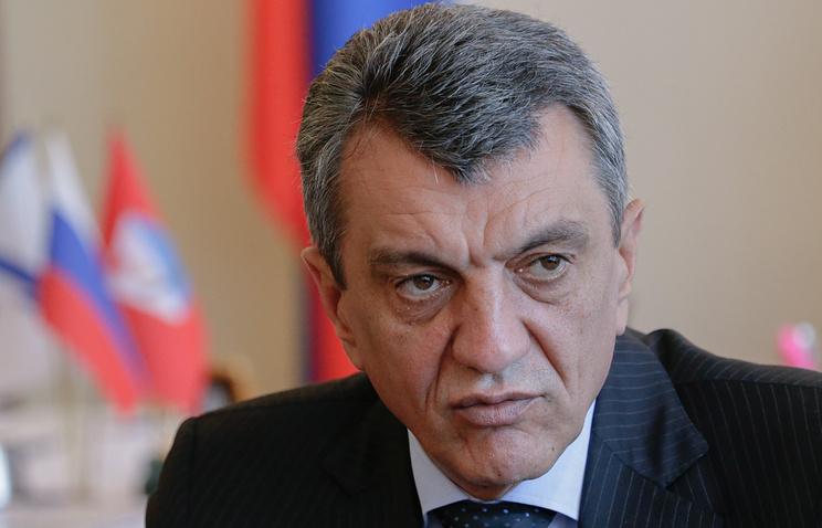 Sevastopol's governor Sergei Menyailo