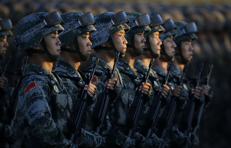 Soldiers of China's People Liberation Army