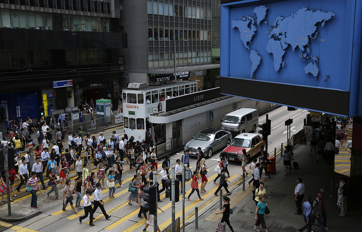Central, Hong Kong's business district
