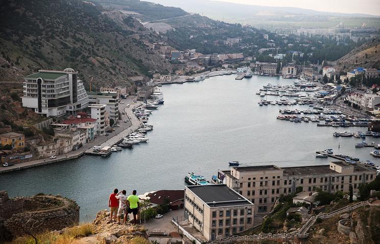 Town of Balaklava near Sevastopol, Crimea