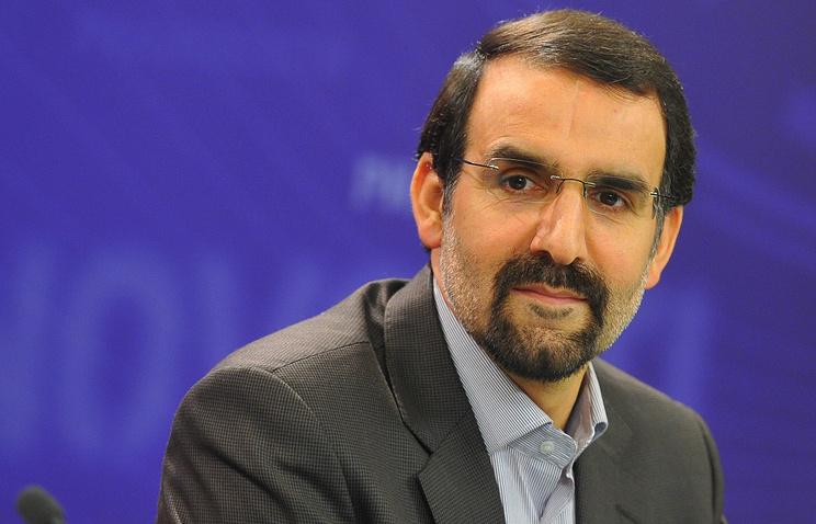 Iranian Ambassador to Russia Mehdi Sanai
