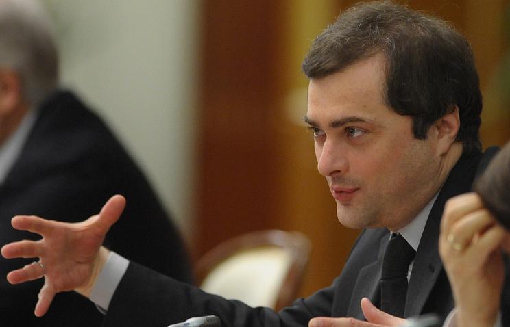 Russian presidential aide Vladislav Surkov