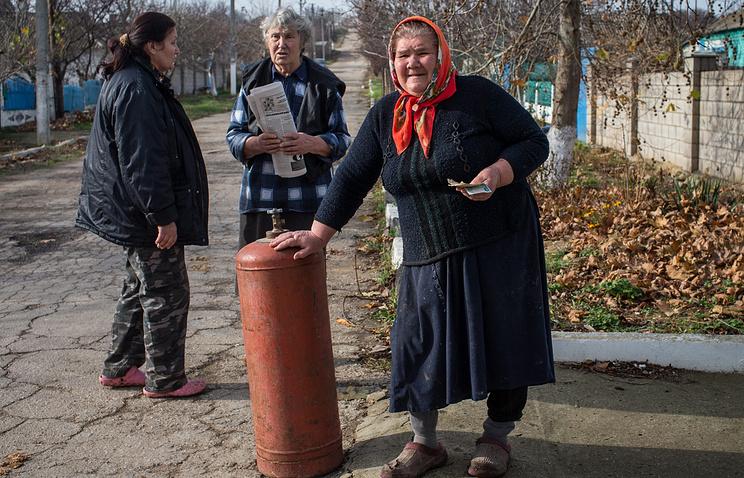 Crimean residents
