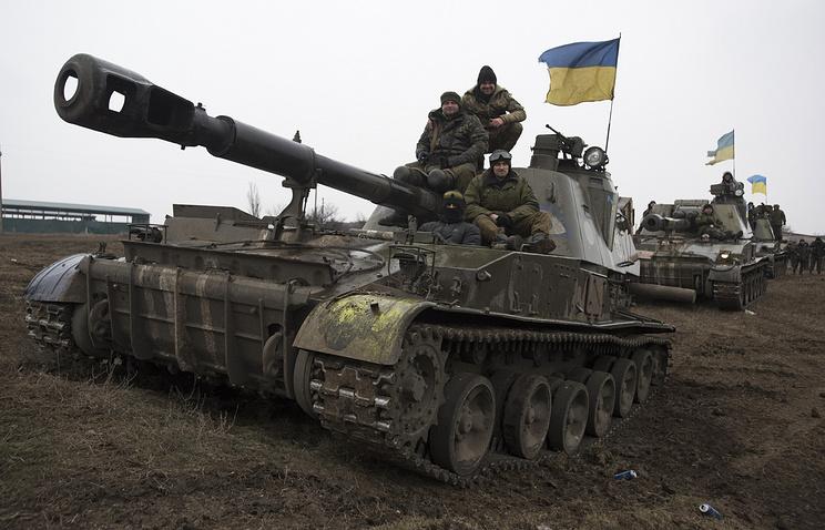 Ukrainian servicemen (archive)