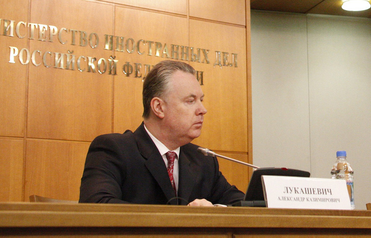 Russia's envoy to OSCE Alexander Lukashevich