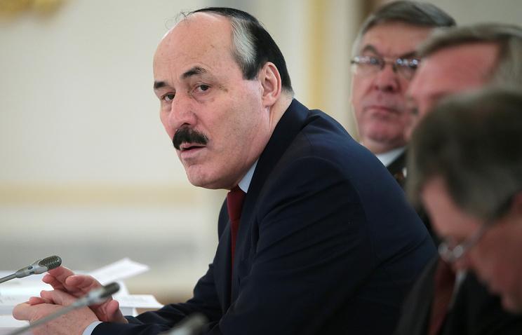 Dagestan's head Ramazan Abdulatipov