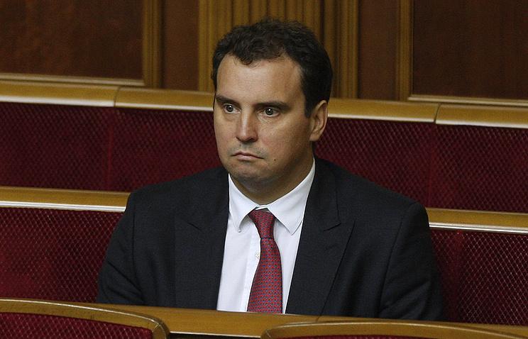 Ukrainian Economic Development and Trade Minister Aivars Abromavicius