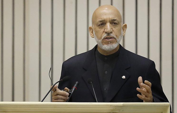 Ex-president of Afghanistan Hamid Karzai