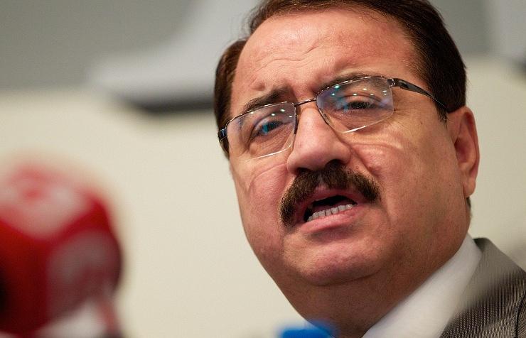 Syrian Ambassador to Moscow Riad Haddad