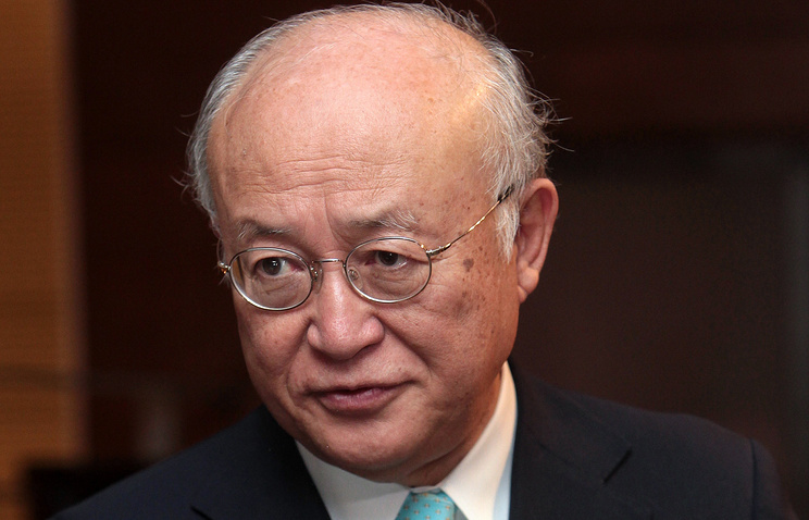 IAEA chief Yukia Amano