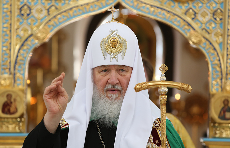 Patriarch of Moscow and All-Russia Kirill