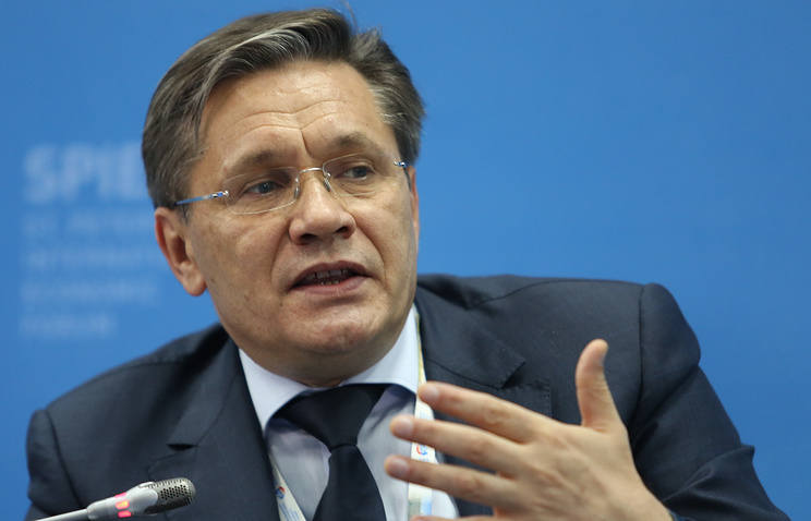 Russia's First Deputy Economic Development Minister Aleksey Likhachev