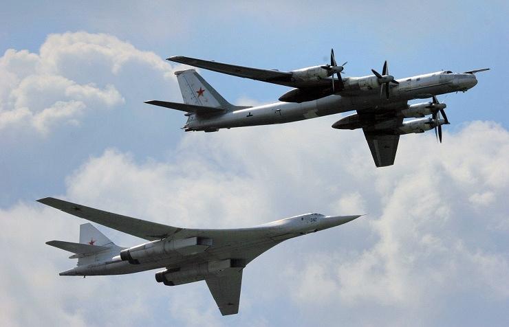 Tu-160 and Tu-95