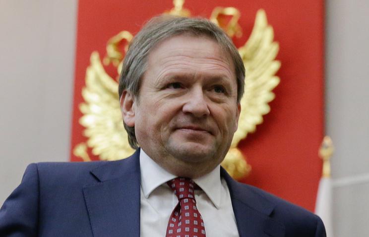 Leader of the Right Cause party Boris Titov