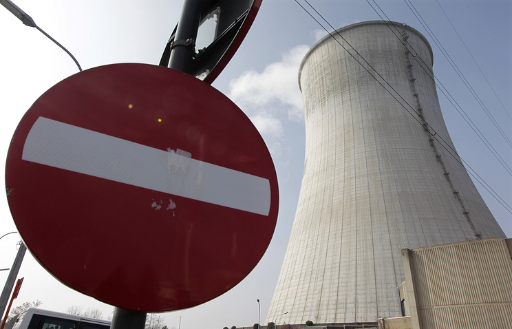 Nuclear power plant in Tihange, Belgium
