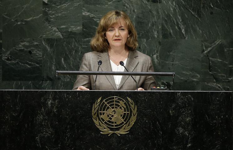 Moldova's Minister of Foreign Affairs and European Integration Natalia Gherman
