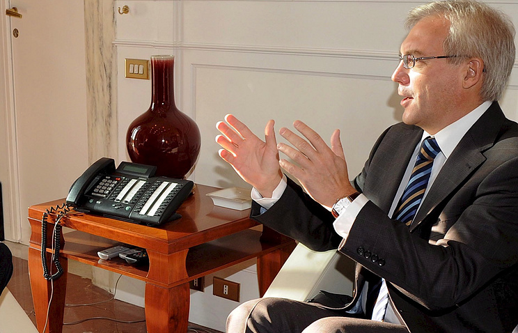 Russia's Permanent Representative to NATO Alexander Grushko