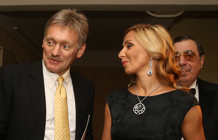 Dmitry Peskov and Tatiana Navka
