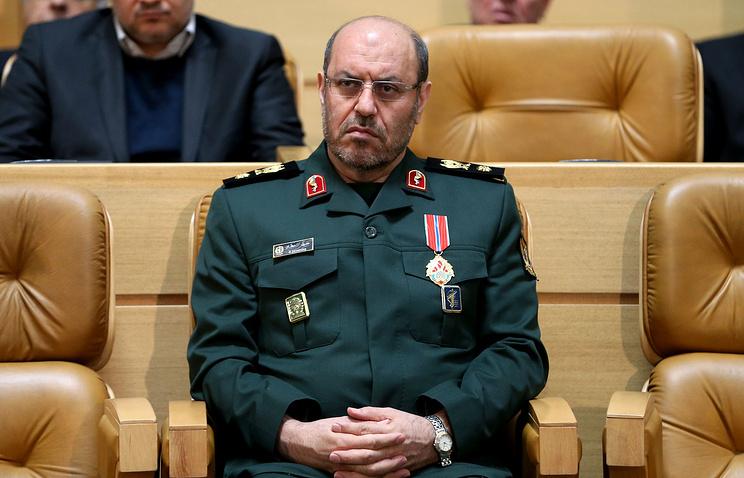Iranian Defense Minister Hosein Dehqan