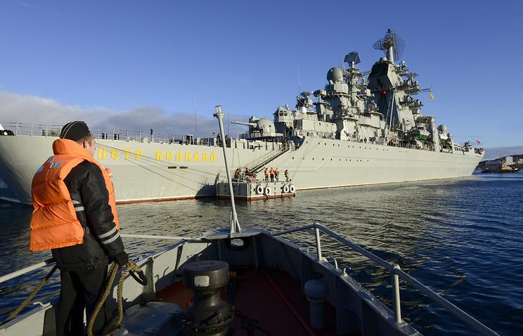 Pyotr Veliky nuclear-powered missile cruiser