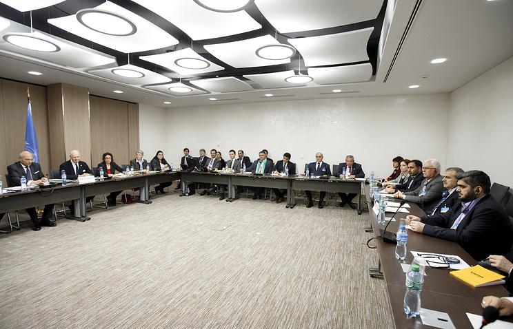 Syria talks in Geneva