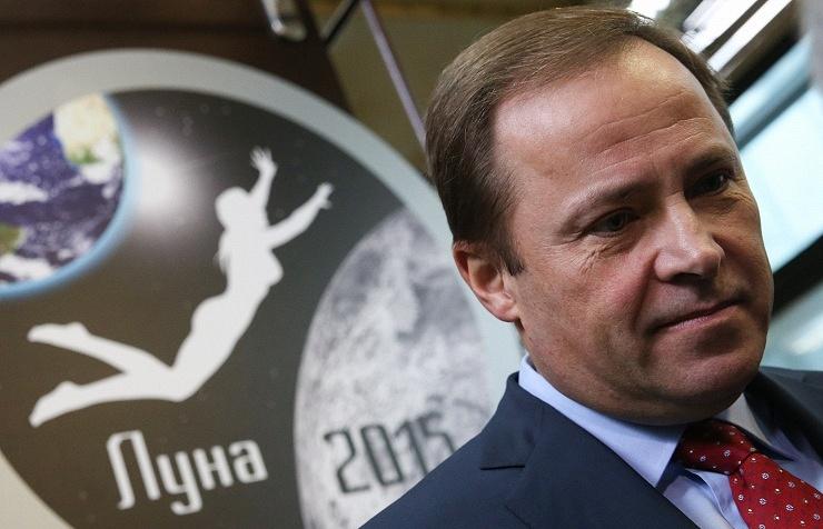 Head of Roskosmos Igor Komarov