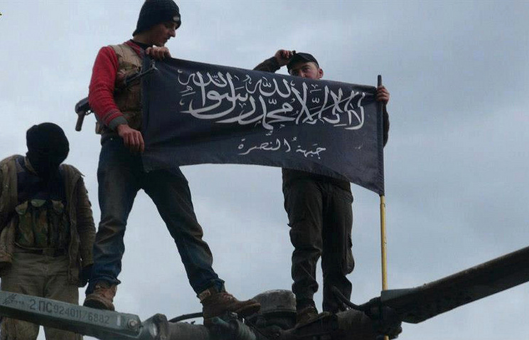 Rebels from Jabhat al-Nusra