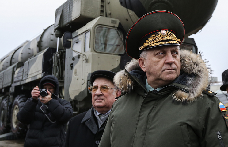 Russian Strategic Missile Force Commander Sergey Karakayev