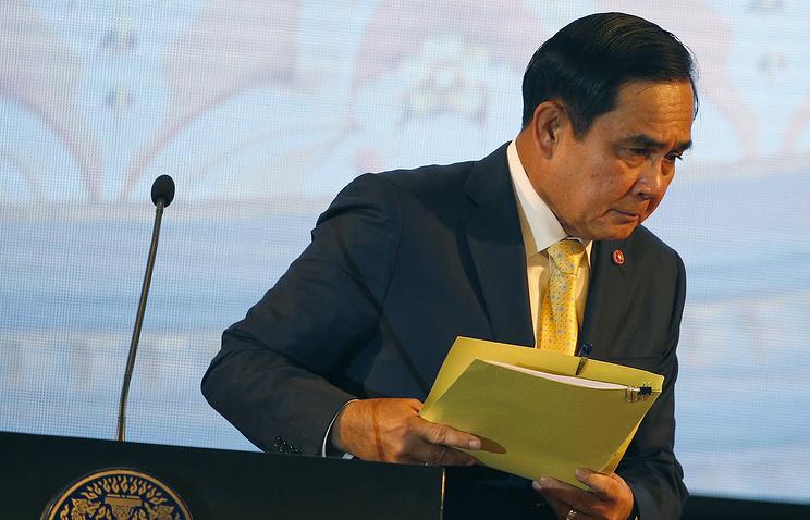Thailand's Prime Minister Prayut Chan-o-cha