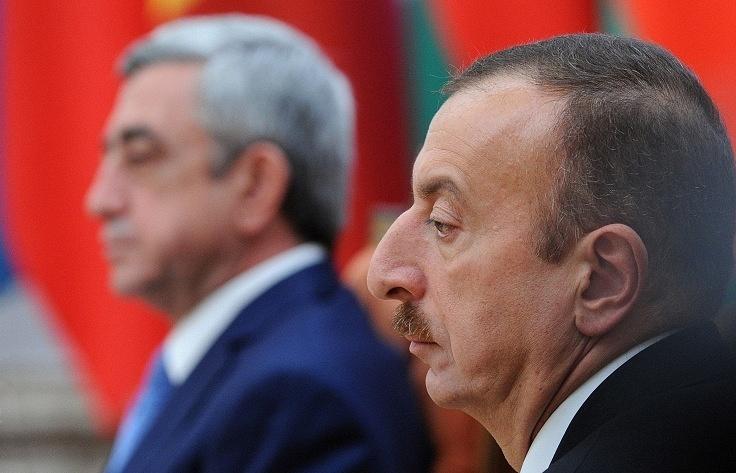 Serzh Sargsyan and Ilham Aliyev
