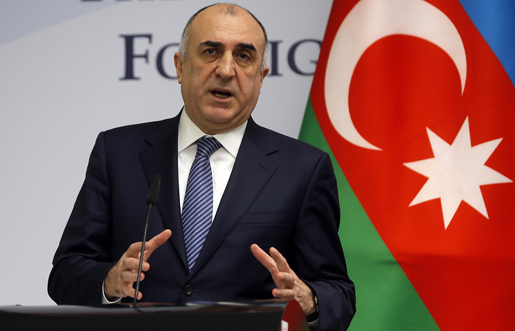 Azerbaijani Foreign Minister Elmar Mamedyarov