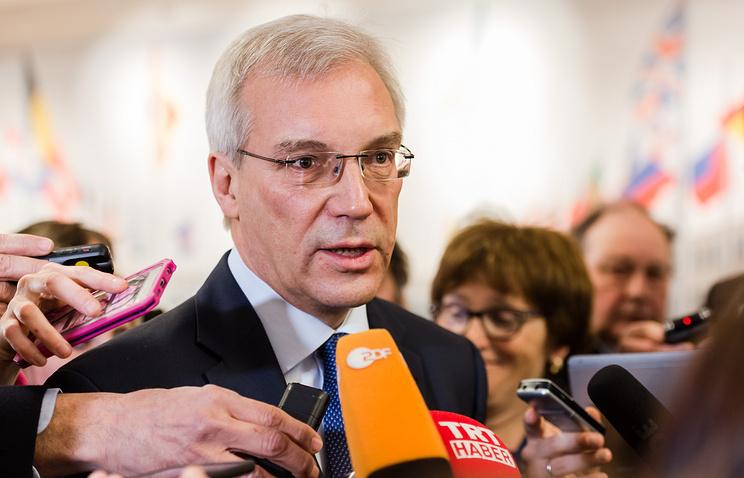 Russian ambassador to NATO Alexander Grushko