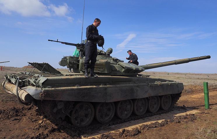 T-72B3 tank
