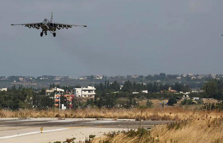 Hmeimim air base in Syria