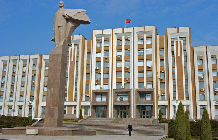 Tiraspol, the capital of Transdniestria (archive)