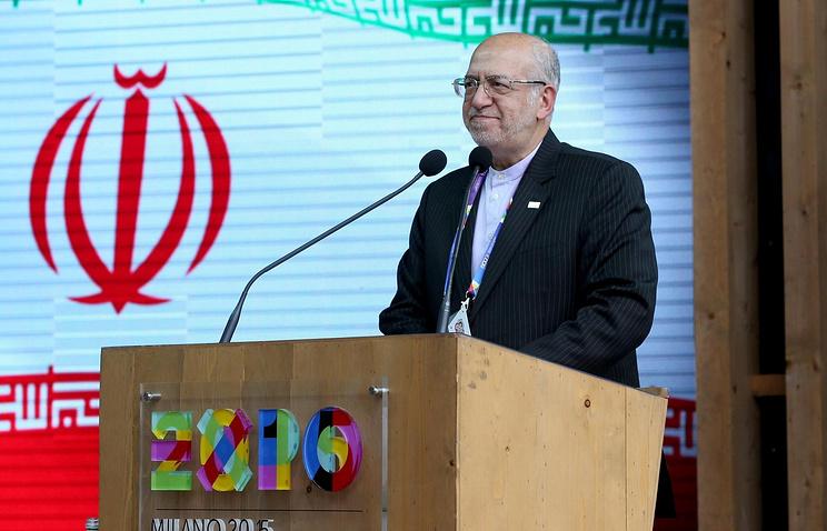 Iran's Minister of Industry, Mining and Trade Mohammad Reza Nematzadeh