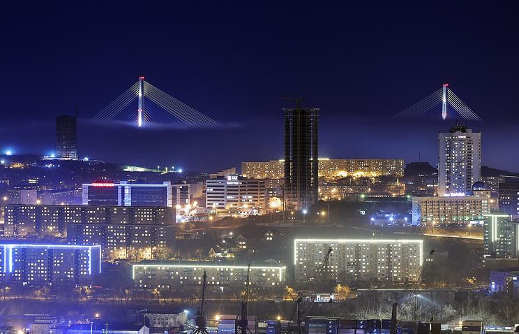 Cape Churkin in Vladivostok