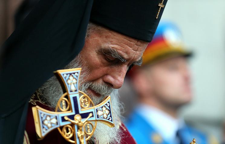 Serbian Orthodox Church Patriarch Irinej