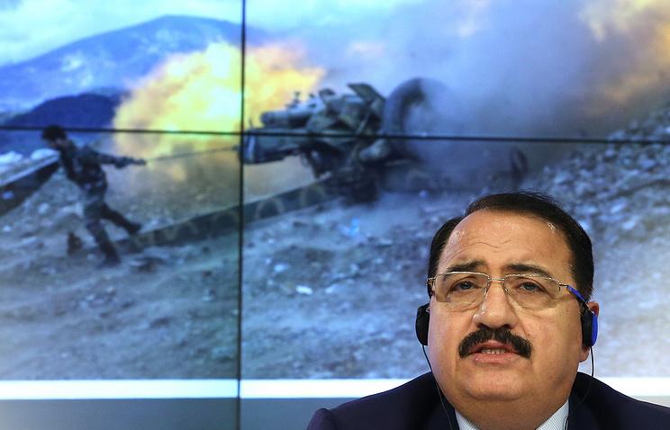 Syrian Ambassador Riyad Haddad