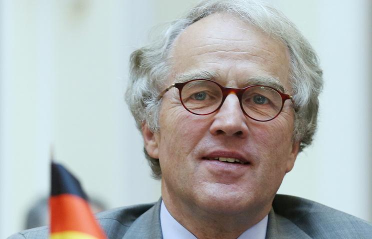 German Ambassador to Russia Rudiger von Fritsch