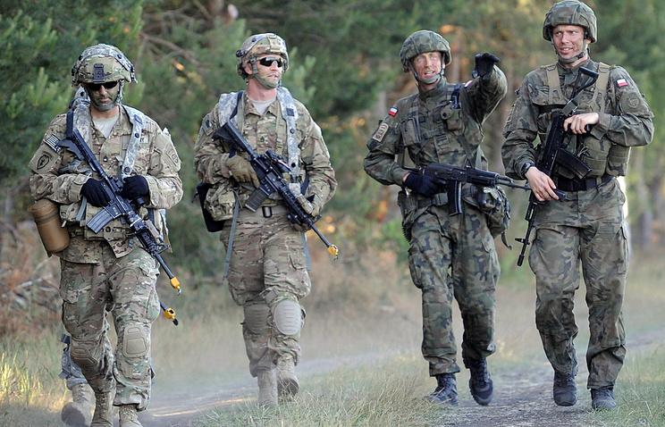 NATO military exercise in Poland